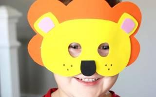 Маски для детей своими руками для детских праздников