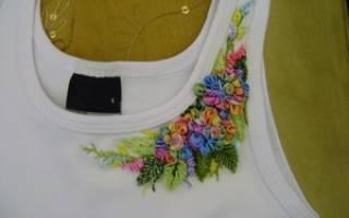 Схемы вышивки на одежде своими руками: украшаем свой гардероб
