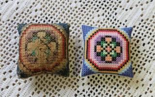 Болгарская вышивка крестом: особенности, основные методы и схемы