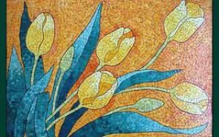 Картины из мозаики своими руками: необычно и со вкусом