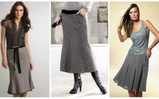 Выкройка юбки годе: наглядный урок для начинающих мастериц