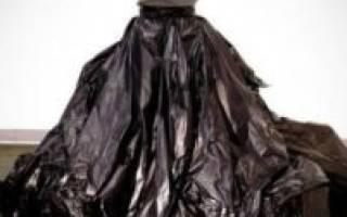 Платье из пакета своими руками для веселых вечеринок