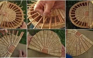 Плетение корзин из лозы для начинающих: подбираем качественный материал