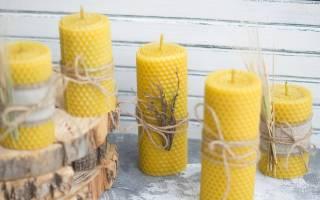 Свечи из воска своими руками: правила, подготовка и ход работы