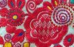 Как вышивать владимирскую гладь и украсить женскую блузу