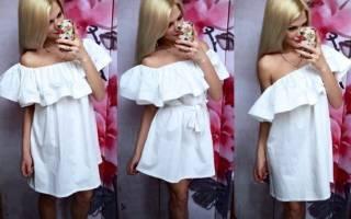 Как сшить платье с воланами на плечах: увлекательные схемы и варианты работ