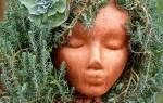 Божья коровка из каски: самодельное украшение для сада и дачи
