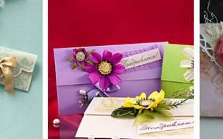 Конверт на свадьбу своими руками: правильно дарим подарок для счастливых молодоженов