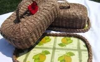 Хлебница из газетных трубочек: уютный и функциональный декор для кухни
