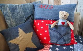 Поделки из джинсовой ткани своими руками: утилизируем старые джинсы