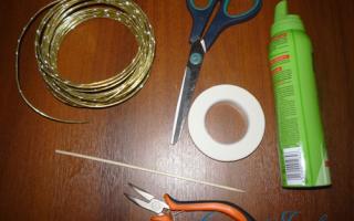 Велосипед своими руками из проволоки, кабеля и шпагата