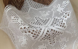Пасхальная салфетка крючком: основы праздничного рукоделия