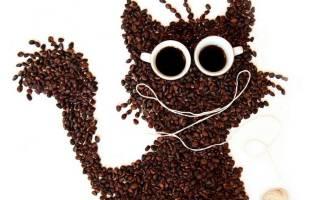 Панно из кофейных зерен для настоящих кофеманов