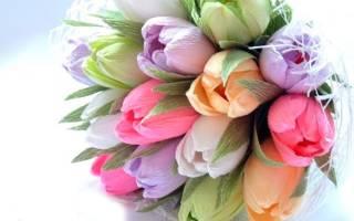 Тюльпан из конфет: прекрасный подарок для любого случая