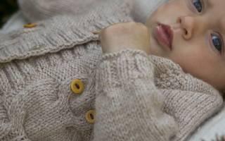 Кофта для новорожденного спицами: интересные инструкции для новичков в рукоделии
