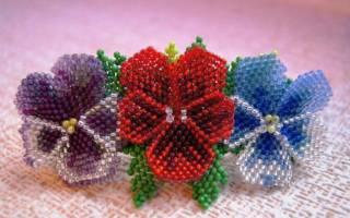 Мозаичное плетение бисером: изучаем основы