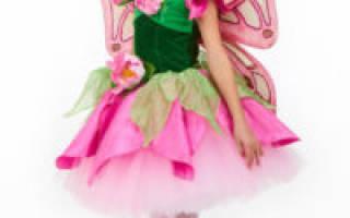 Карнавальные костюмы для девочек своими руками: лучшие идеи для маленьких фей