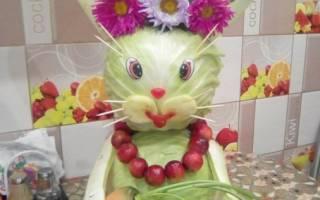Поделки из овощей и фруктов: творчество для деток