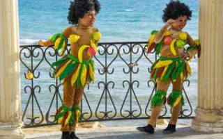 Африканский костюм своими руками: варианты для детей и взрослых