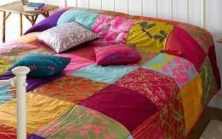 Мастер-класс по одеялам пэчворк: буйство красок на кровати