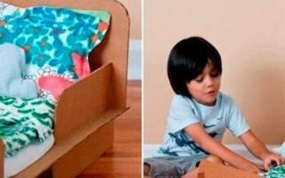 Кровати для кукол своими руками: простые идеи для любящих родителей