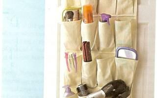 Подвесной органайзер с карманами: отличный способ хранения необходимых вещей