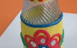 Как сделать вазу из пластилина: создание из банки или бутылки своими руками