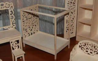Шкаф для куклы своими руками: изготавливаем кукольную мебель