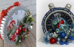Часы из конфет: простой и необычный декор для дома