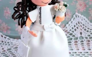 Куклы из фоамирана: готовим своими руками сюрприз для малышки