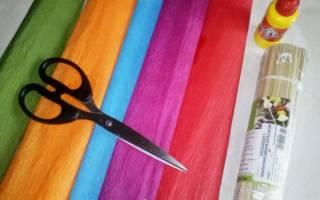Гиацинт из гофрированной бумаги своими руками: красивый подарок для мамы