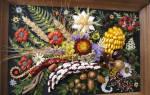 Панно из природного материала: украшаем дом «дарами природы»