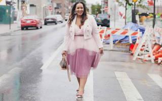 Летнее платье для полных: красивая и легкая обновка для гардероба