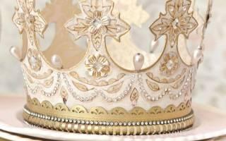 Корона для девочек своими руками: украшение для истинных принцесс