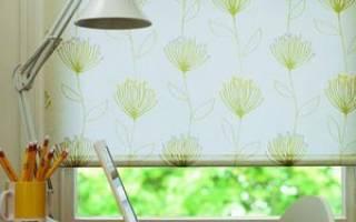 Рулонные шторы своими руками: заменяем магазинные гардины