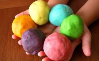 Как сделать пластилин в домашних условиях своими руками для детского хобби