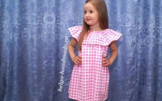 Выкройки детских платьев и сарафанов на примере основ для любого наряда