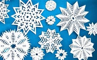 Снежинка своими руками: простые инструкции для начинающих