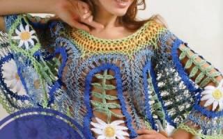 Вязание на вилке для начинающих: популярные модели женских кофточек
