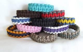 Плетение браслетов из шнурков: стильно, модно, молодежно