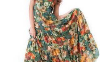 Выкройки летних платьев для жаркой и знойной погоды
