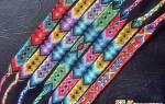 Плетение браслетов из ниток мулине: аксессуар для друзей и родных