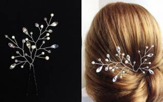 Заколка для волос своими руками: стильное украшение на каждый день