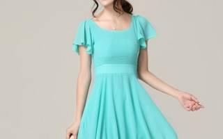 Выкройка платья с завышенной талией для изящных дам