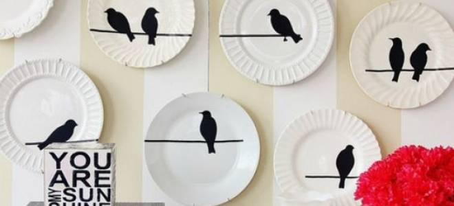 Роспись тарелок своими руками: мастер-класс и идеи