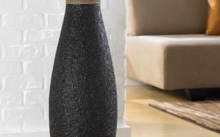 Мастер-класс по декору вазы своими руками при помощи разных способов