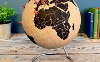Как сделать глобус из пластилина своими руками: мастерим модель земли с детьми