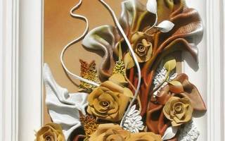Панно из кожи своими руками: создаем оригинальный элемент декора