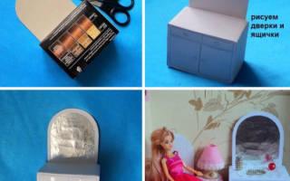 Кресло для куклы своими руками: роскошная игрушечная мебель из подручных материалов