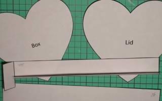 Коробка для конфет своими руками: учимся красиво упаковывать подарки